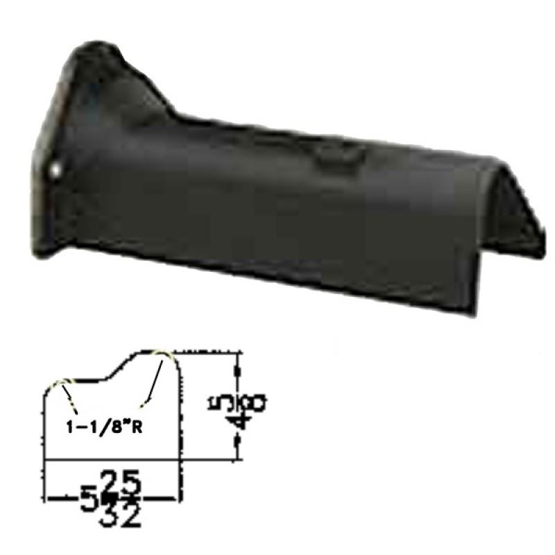 """LFD-0002R Miller Curber MC250 Curbilder w/4"""" Auger Std Form"""
