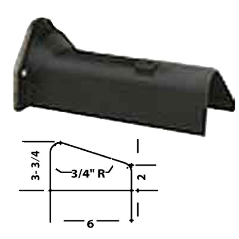 """LFD-0006R Miller Curber MC250 Curbilder w/4"""" Auger Std Form"""