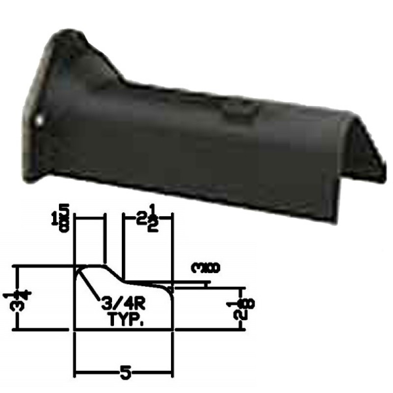 """LFD-0007 Miller Curber MC250 Curbilder w/4"""" Auger Std Form"""
