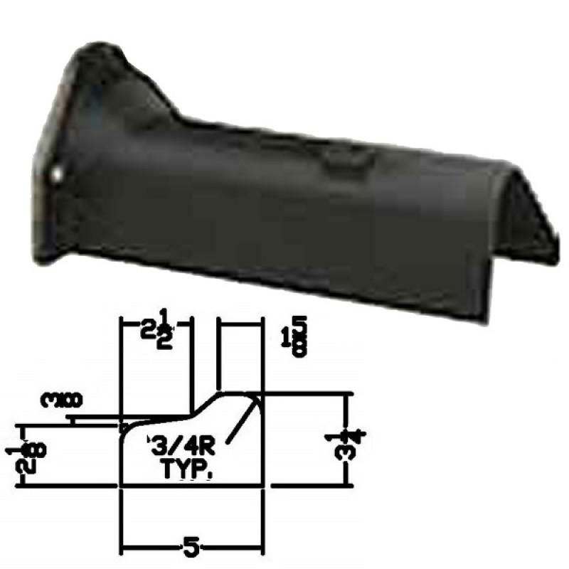 """LFD-0007R Miller Curber MC250 Curbilder w/4"""" Auger Std Form"""