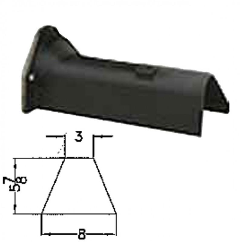 """LFD-0013 Miller Curber MC250 Curbilder w/4"""" Auger Std Form"""