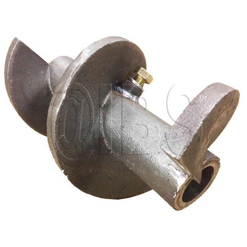 """45018-11 Miller Curber 6"""" Hollow Cast Auger"""