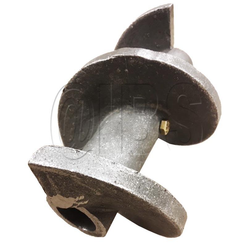 """45018-18 Miller Curber 5"""" Solid Cast Auger 9"""" Lg"""