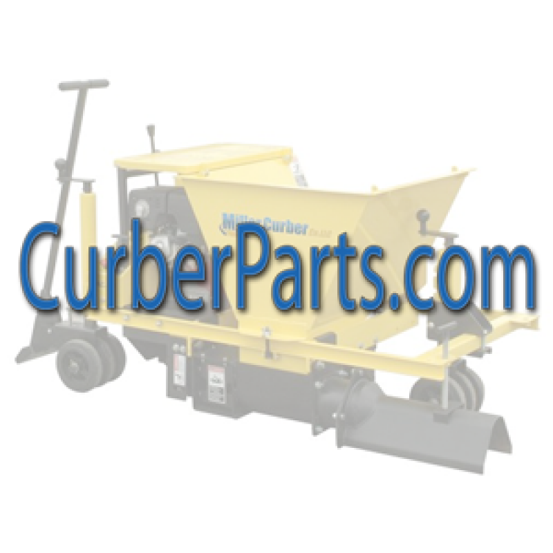 42316-01 Miller Curber 11 Cu Ft Steel Bucket